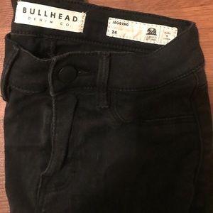 Bullhead black jeggings